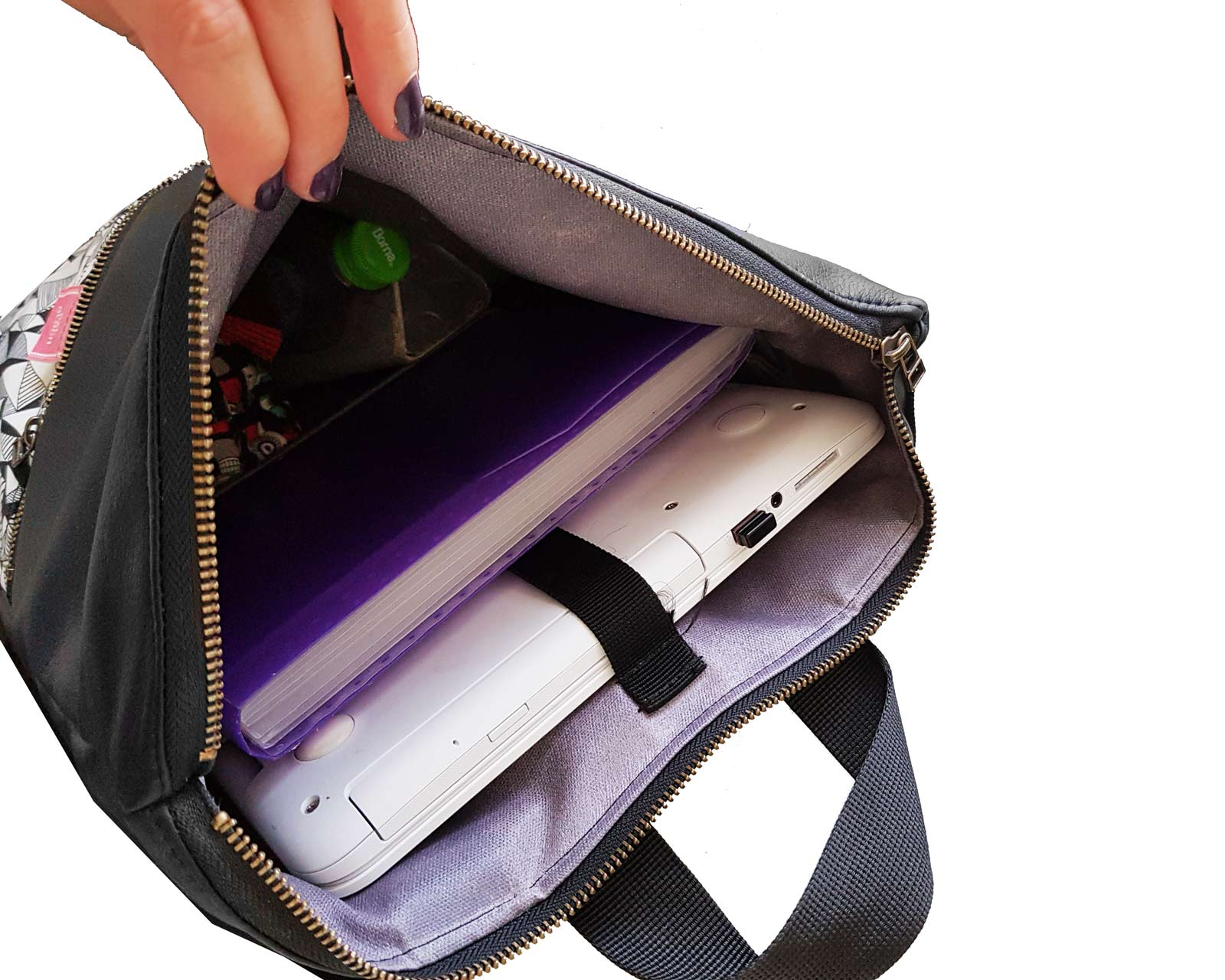 תיק גב ללפטופ - עם תא ייעודי למחשב נייד laptop backpack