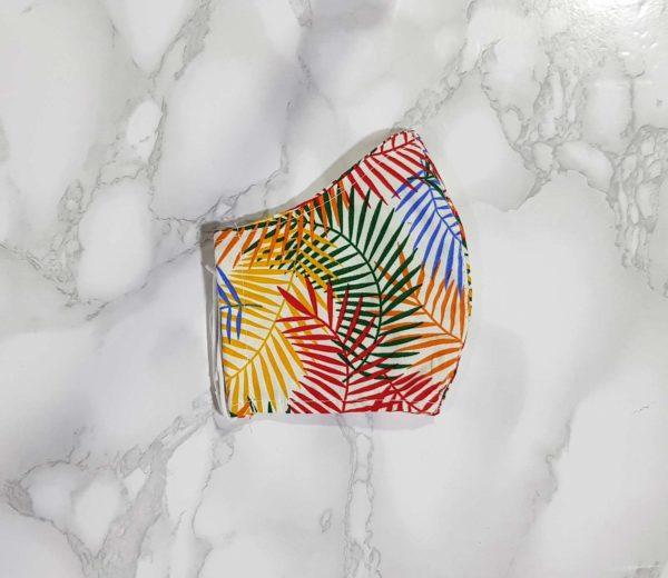 מסיכות פנים מעוצבות למכירה עלים צבעוני